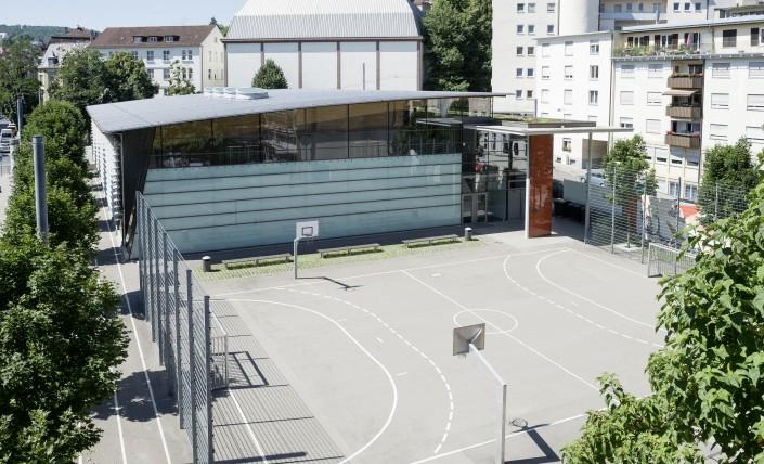 Schulhof | Karls-Gymnasium Stuttgart | Humanistisches Gymnasium mit Hochbegabtenzug